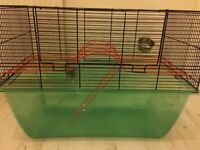 Hamster or gerbil cage/tank