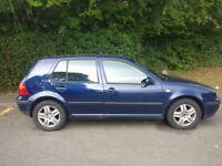 VW GOLF MATCH 2003 FOR SALE- 1.6 PETROL , MANUAL, 5D HATCHBACK,GOOD CONDITION, 86K MILEAGE