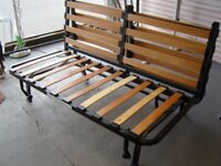 Ikea Lycksele Sleeper Sofa Bed Frame and Cover in Beige