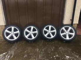 Audi 18 inch s line alloys and tyres