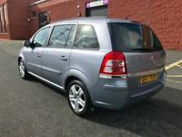 JANUARY 2010 VAUXHALL ZAFIRA EXCLUSIVE 1.6 PETROL 7 SEATER ONLY 55,000 FULL SERVICE HISTORY LONG MOT