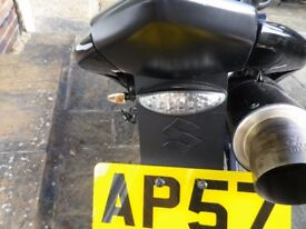 Suzuki B King BKING GSX1300BK Tail Tidy and LED rear light.