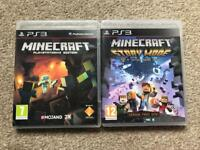 Minecraft & Minecraft Story Mode PS3