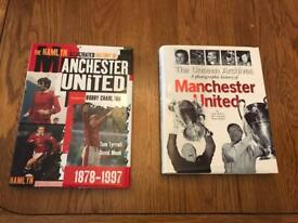 Manchester United Hard Back Books