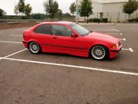 BMW e36 316i auto converted to 328i manual compact , very fast , drift m52b28 track day car