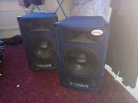 KAM Disco Speakers