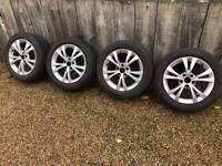 "16"" 5x110 Alfa giulietta alloy Snow Winter Wheels Alloys With Tyres Saab"