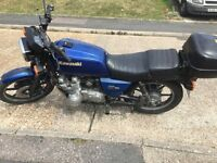 Kawasaki GT750 shaft drive. 1993. Long MOT.