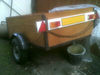 Solid,Craftsman made Trailer,very strong,don't miss this.