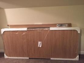 Pair Spacepro Sliding Wardrobe Doors and Track Set