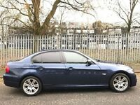 BMW 318D 2.0 DIESEL SPECIAL BUSINESS EDITION,HPI CLEAR,M SPORT ALLOYS,2 KEY,SAT NAV,SENSOR,A/C,F/S/H