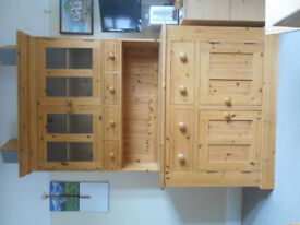 Solid Pine Dresser perfect condition