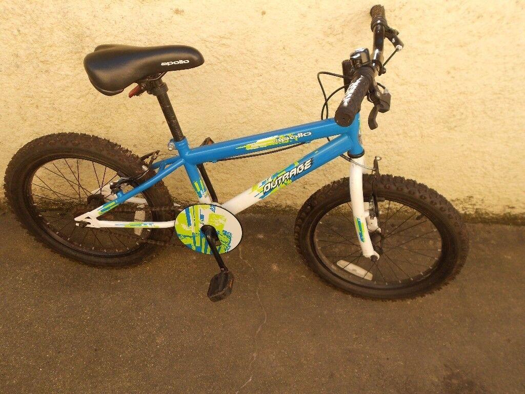 "Boys 18"" Appollo Outrage Bike"