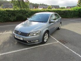 2011 VOLKSWAGEN PASSAT BLUEMOTION 1.6 TDI GREY £30 A YEAR TAX
