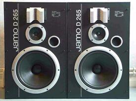 Jamo D 265 speakers