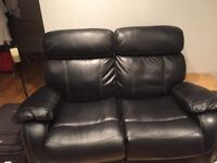 2 seater recliner hardly sat on . For free