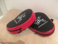 Martial Arts/Boxing sparring pads and three-section wall bag
