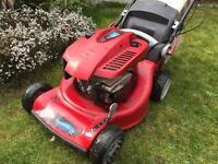 Toro petrol mower mulcher