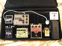 Gator Pedal Tote and Pedals.