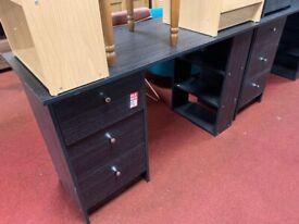 Malibu desk Black