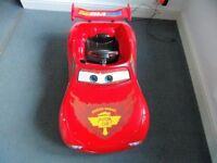 Lightning McQueen 6V Ride on Motorised Car
