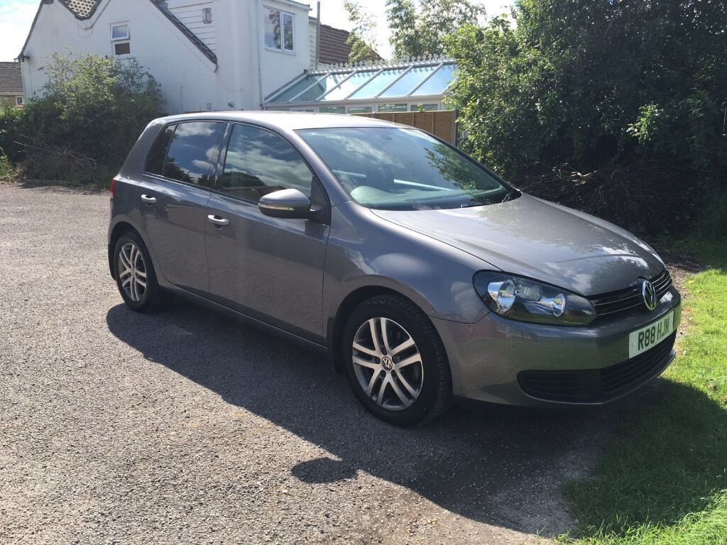 2009 39 59 vw golf mk6 se tdi 6 speed manual grey fvwsh immaculate condition in frampton. Black Bedroom Furniture Sets. Home Design Ideas