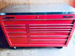Snap-on Classic 78 stainless steel tool box  top tmint condition