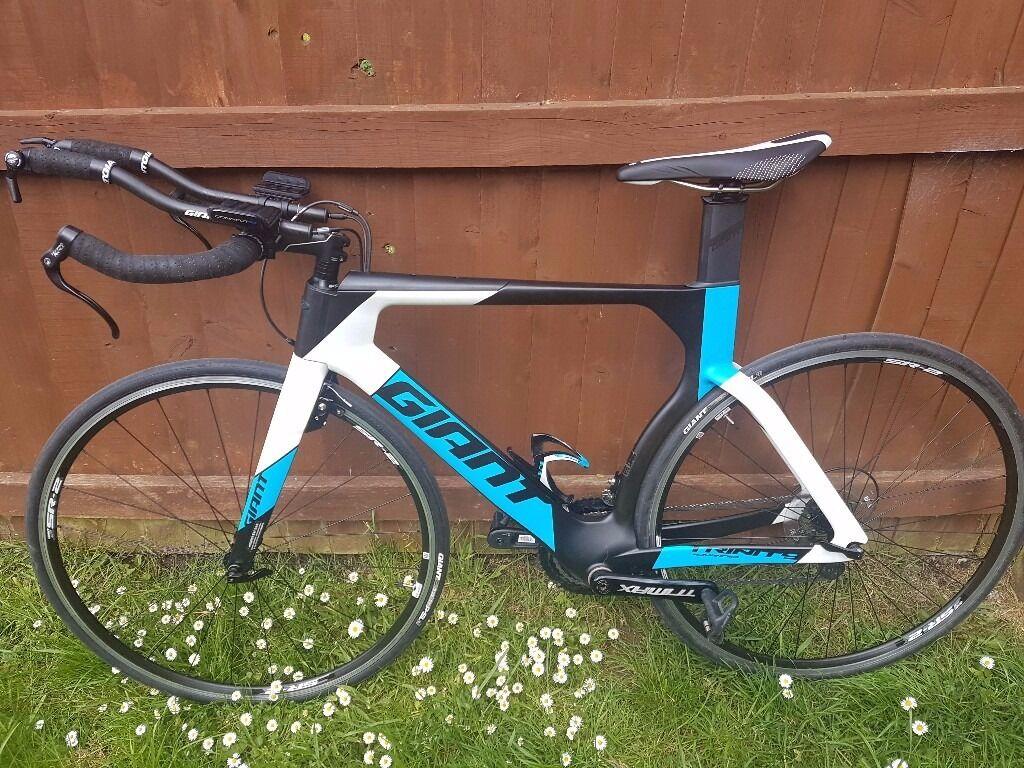 Giant Trinity Advanced Triathlon Tt Time Trial Bike Size