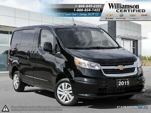 2015 Chevrolet City Express 1LT**BLUETOOTH**KEYLESS**PWR WIN AND