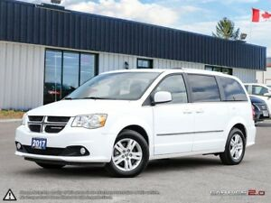 2017 Dodge Grand Caravan Crew,ECON,FULL STOW-N-GO,DUAL CLIMATE