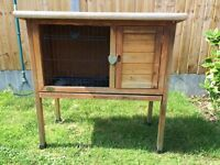 Perfect condition Rabbit hutch for sale.