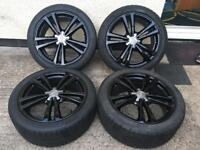 """Genuine Audi A3 s line alloy wheels with tyres 18"""" 5x112"""