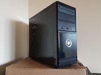 Windows 10 PC tower, Intel Dual Core E3300 CPU 2X 2.5Ghz, 250GB HDD, 3GB, Nvidia Geforce 7050