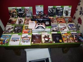 X box 360 and 29 games