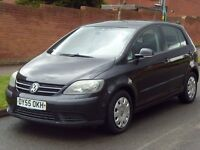 2005 55 Volkswagen VW Golf Plus S TDI, DIESEL- LONG MOT - BARGAIN *CHEAP TO RUN* - TDI - PX