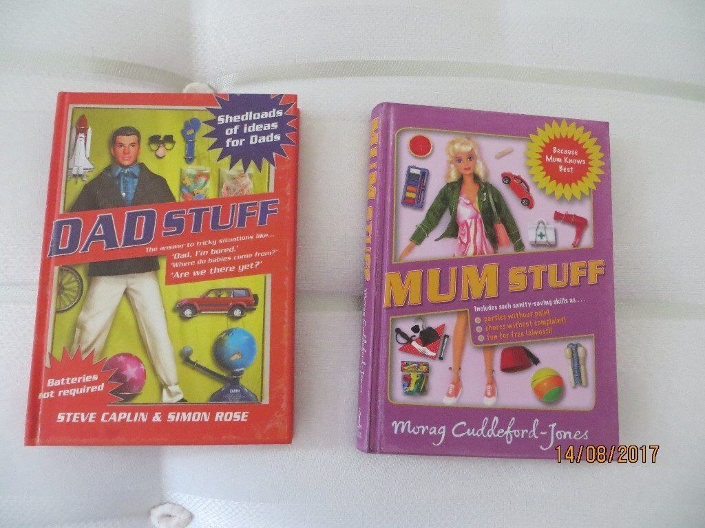 Mum stuff and dad stuff books