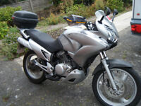 Honda XL 125 Varadero. 2008 with top box, hand guards and 12 months MOT