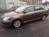 (((LARGE BOOT AREA ))) TOYOTA AVENSIS T3 1.8 ((( 53 PLATE)))TOP SPEC +1 OWNER+F/S/H* MOT- OCT 2017