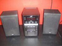 JVC UX-GP9D stereo with I pod flip dock