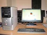 Fast DELL Quad-Core 2.40GHzx4.. 4gb ram. 19 inch widescreen LCD. Win 7. WiFi . can deliver