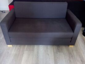 Ikea ULLVI sofa bed, double bed, grey, can deliver