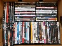 62 dvd's