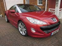 JUST REDUCED: Peugeot RCZ GT (THP 200) - Stunning with under 10,000 miles