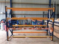 SPERRIN HEAVY DUTY INDUSTRIAL COMMERCIAL WAREHOUSE LONGSPAN PALLET RACKING BAY