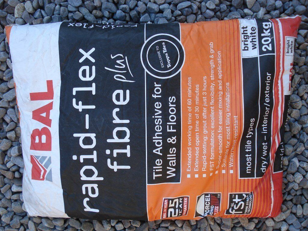 Bal floor and wall tile adhesive x 4 bags in beauly highland bal floor and wall tile adhesive x 4 bags dailygadgetfo Choice Image