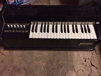 Vintage Rosedale Electric Chord Organ