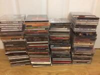 Rock heavy metal Alternative Cd albums collection job lot