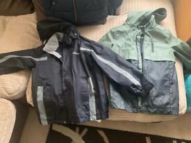 4x Age 7-8 years boys coats