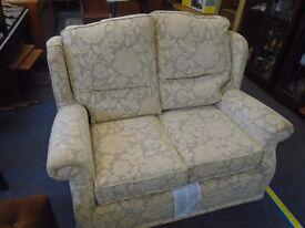 2 seat sofa floral design