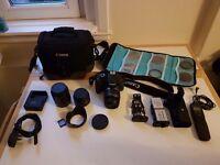 Canon 550d Bundle